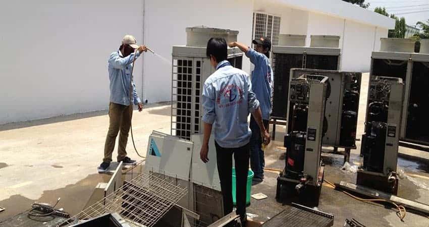Đồng Phục Nhân Viên Sửa Chữa Điện Lạnh Giá Cực Rẻ Tại Tp.HCM