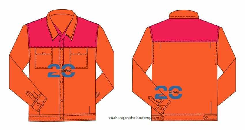 Mẫu Đồng Phục Thợ Điện Lạnh – MĐPCN20-08