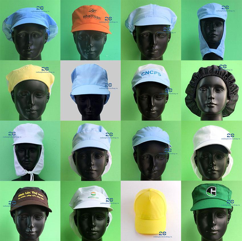 Mũ Vải Bảo Hộ Lao Động | Thực Phẩm – Giày Da – Bao Bì – Dệt May