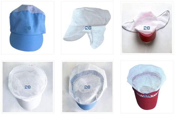 Mũ Vải Bảo Hộ Lao Động | Mũ Bao Tóc Công Nhân Giá Rẻ