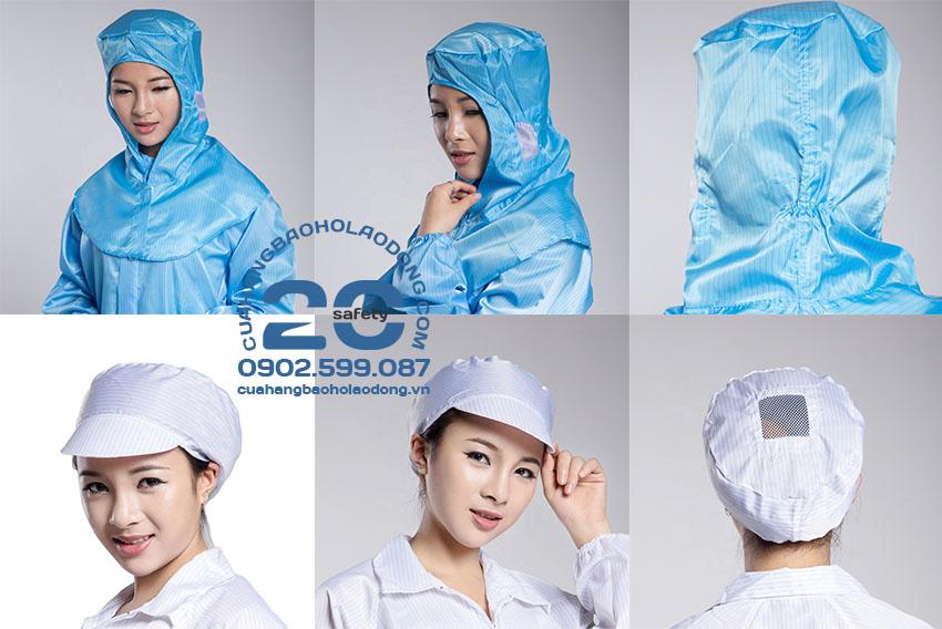 Mũ Nón Lưới Trùm Tóc Công Nghiệp | Mũ Nón Vải Bảo Hộ Lao Động