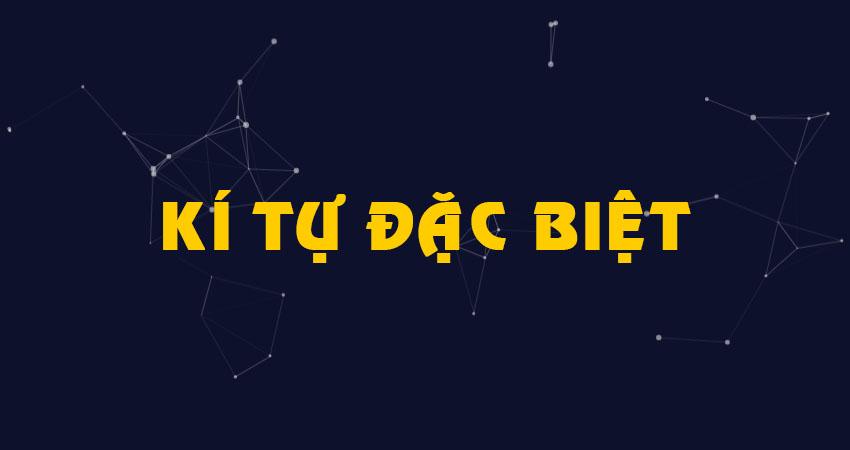 1001 Kí Tự Đặc Biệt ²⁰²² Tạo Tên Game ✔️ Facebook ✔️ TikTok ✔️ Zalo ✔️ Đẹp