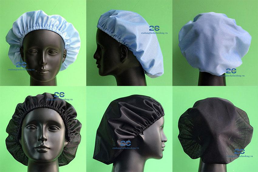 Mũ Lưới Chụp Tóc Sử Dụng Trong Sản Xuất Đóng Gói Sản Phẩm | Thực Phẩm | Dệt May | Giày Da